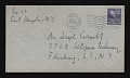 View Robert Motherwell letter to Joseph Cornell digital asset: envelope