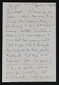 View Robert Motherwell letter to Joseph Cornell digital asset: front