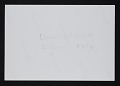 View Photograph of Daniel Wheeler, Douglas Cramer, and Ellsworth Kelly digital asset: verso