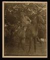 View Hervey White on horseback digital asset number 0