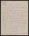 View Marcel Duchamp letter to Jean Crotti and Suzanne Duchamp digital asset number 0