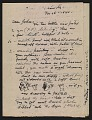 View Reginald Marsh letter to John Steuart Curry digital asset: page