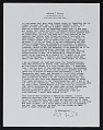 View Arthur Coleman Danto letter to Robert Burns Motherwell digital asset number 1