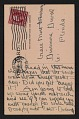 View Andrew Michael Dasburg postcard to Grace Mott Johnson digital asset: verso