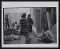 View Photograph of Gene Davis and art students preparing for <em>Giveaway</em> exhibition at Mayflower Hotel, Washington, DC digital asset number 0