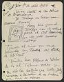 View José de Creeft diary digital asset: page 3