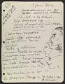 View José de Creeft diary digital asset: page 5