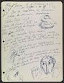 View José de Creeft diary digital asset: page 56