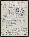 View José de Creeft diary digital asset: page 88