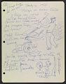View José de Creeft diary digital asset: page 104