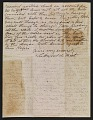 View Lockwood de Forest letter to Mary Garrett digital asset: page 1