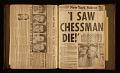View Elaine de Kooning scrapbook relating to Caryl Chessman digital asset number 60
