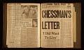 View Elaine de Kooning scrapbook relating to Caryl Chessman digital asset number 61