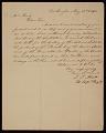 View John James Abert letter to G. P. A. (George Peter Alexander) Healy digital asset number 1