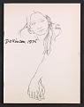 View Catalog for <em>Eleanor Dickinson: line drawing</em> exhibition digital asset: cover