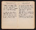 View Helen Torr Dove and Arthur Dove diary digital asset: pages 33