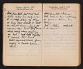 View Helen Torr Dove and Arthur Dove diary digital asset: pages 50