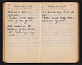 View Helen Torr Dove and Arthur Dove diary digital asset: pages 83