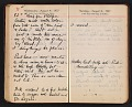 View Helen Torr Dove and Arthur Dove diary digital asset: pages 110