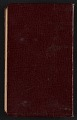 View Helen Torr Dove and Arthur Dove diary digital asset: cover back