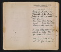 View Helen Torr Dove and Arthur Dove diary digital asset: pages 2