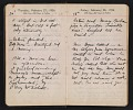 View Helen Torr Dove and Arthur Dove diary digital asset: pages 31