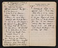 View Helen Torr Dove and Arthur Dove diary digital asset: pages 34