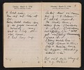 View Helen Torr Dove and Arthur Dove diary digital asset: pages 36