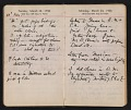 View Helen Torr Dove and Arthur Dove diary digital asset: pages 43