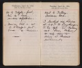 View Helen Torr Dove and Arthur Dove diary digital asset: pages 55
