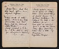 View Helen Torr Dove and Arthur Dove diary digital asset: pages 74