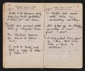 View Helen Torr Dove and Arthur Dove diary digital asset: pages 88