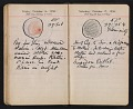 View Helen Torr Dove and Arthur Dove diary digital asset: pages 148
