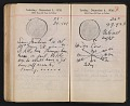 View Helen Torr Dove and Arthur Dove diary digital asset: pages 174
