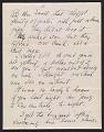 View Arthur Dove letter to Helen Torr Dove digital asset: page 3
