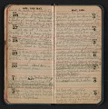 View Helen Torr Dove diary digital asset: pages 20