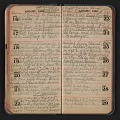 View Helen Torr Dove diary digital asset: pages 36