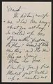 View Arthur Garfield Dove letter to Helen Torr Dove digital asset: page 2
