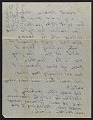View Arthur Garfield Dove letter to Helen Torr Dove digital asset: verso