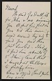 View Arthur Garfield Dove letter to Helen Torr Dove digital asset: page