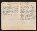 View Arthur Dove diary digital asset: pages 91