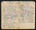 View Arthur Dove diary digital asset: pages 112