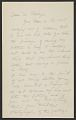 View Draft of letter from Arthur Dove to Duncan Phillips digital asset number 0