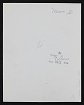 View Contact sheet of photographs from American National Exhibition, Moscow digital asset: verso