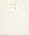 View Alfred Stieglitz digital asset: verso