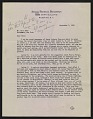 View Forbes Watson letter to Olin Dows digital asset number 0
