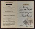 View Guy Pène Du Bois' passport digital asset: pages 1