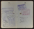 View Guy Pène Du Bois' passport digital asset: pages 5