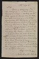 View Rembrandt Peale letter to unidentified recipient digital asset number 0