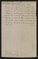 View Rembrandt Peale letter to unidentified recipient digital asset: verso